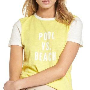 MADEWELL Pool vs Beach Graphic Tee Small
